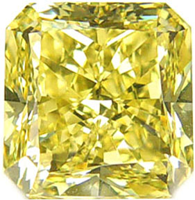 Fancy Light Yellow 0.90 ct