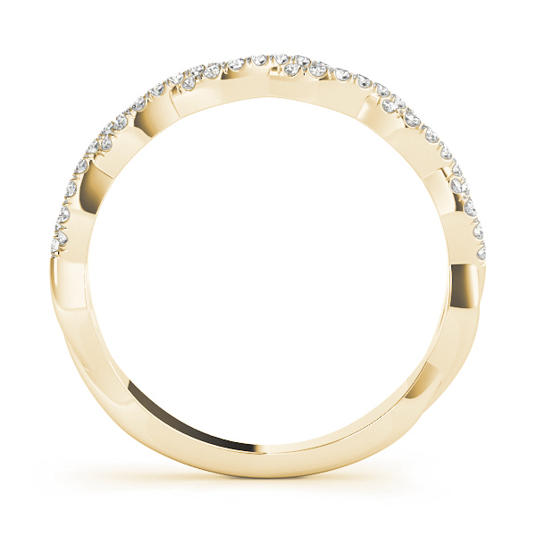 Infinity Diamond Stackable Ring Set in Gold
