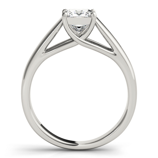 Trellis Solitaire Engagement Ring
