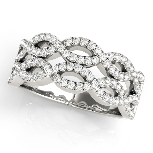 Double Infinity Diamond Band