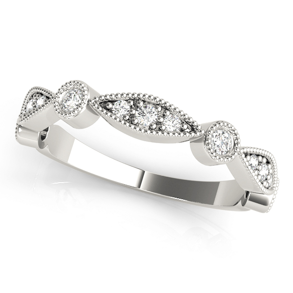 Petite Bezel Stackable Swing Band