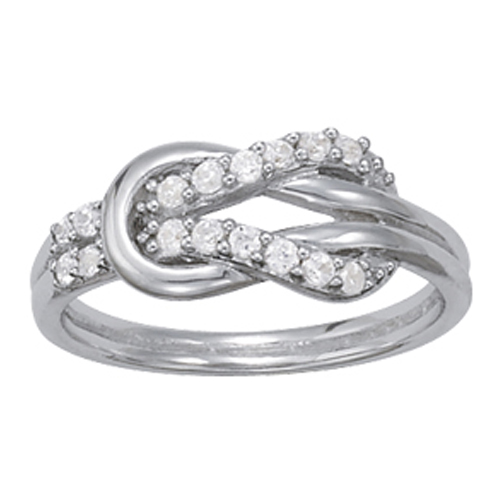 Love Knot Diamond Ring