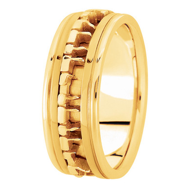 I Am To My Beloved Yellow Gold Ring
